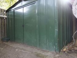 Old Steel Shed